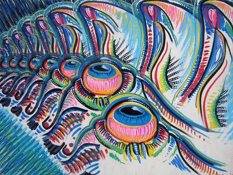 Psychedelic Technicolor Artwork