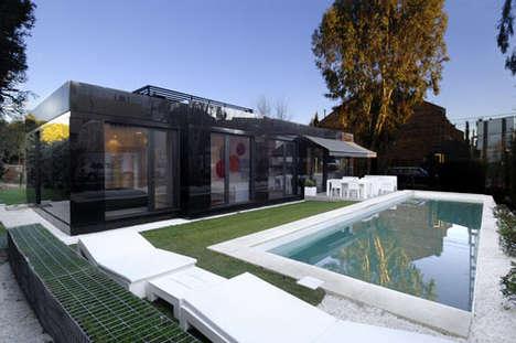 Glossy Geometric Housing