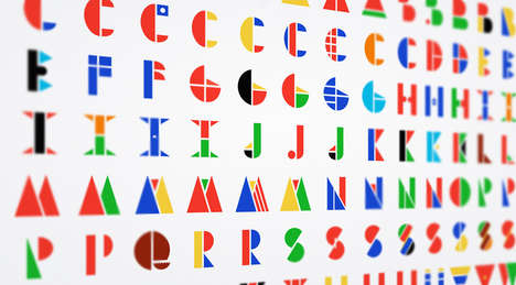 Multinational Flag Alphabets