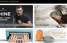 Wearable Technology Stores - Amazon Creates a Store Where You Can Purchase Wearable Technology