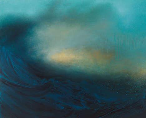 Abstract Ocean Paintings