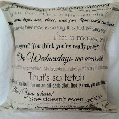 Quotable Cinematic Pillows