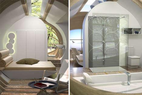 Modular Pop-Up Cabins