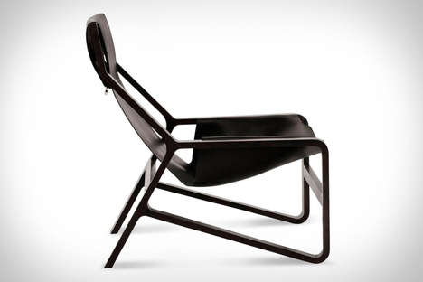 Minimal Saddle Leather Seating