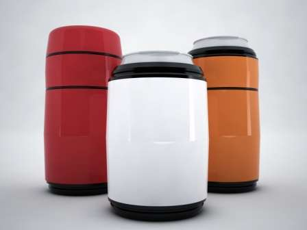 Space-Age Beverage Coolers