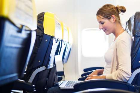 In-Flight Connectivity Upgrades - AT&T is Bringing 4G LTE to Commercial Planes Starting Late 2015