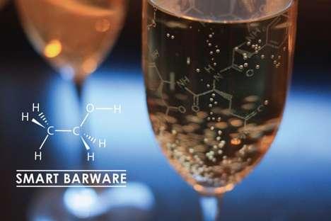Hormone-Etched Glassware