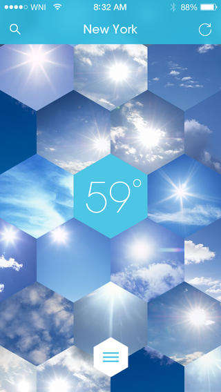 Personalized Forecast Apps - The Sunnycomb App Creates Weather the Way You Want to See It