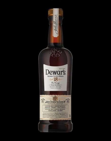 Heritage-Inspired Scotch Branding