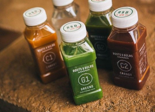 Categorized Juice Branding