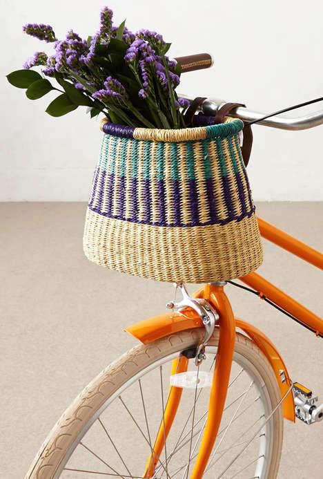 Bohemian Bike Baskets