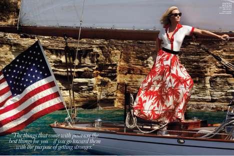 Sailing Starlet Editorials