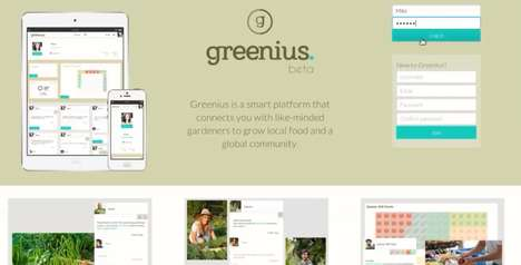Green Thumb Networks - Greenius is a Virtual Garden Planner and Platform for Gardeners