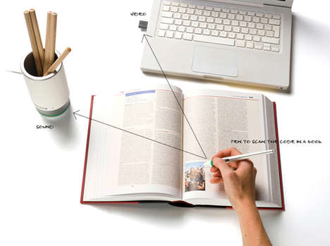 Multimedia Office Supplies - The Brockhaus Pen2 Draws Up an Interactive Work and Study Experience
