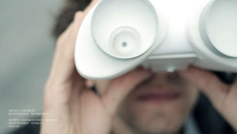 AR Tourist Binoculars - Urban Sense is an Innovative and Info-Giving Companion for Sightseers