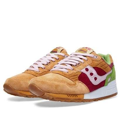Burger-Inspired Sneakers