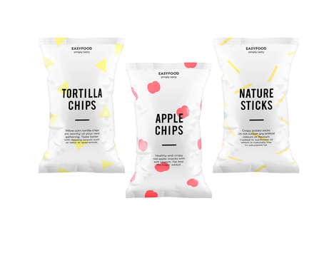 Simple Shape Snack Branding