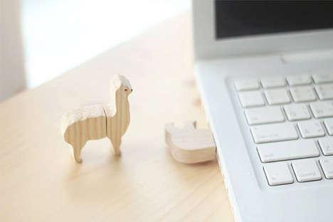 Timber Alpaca USBs