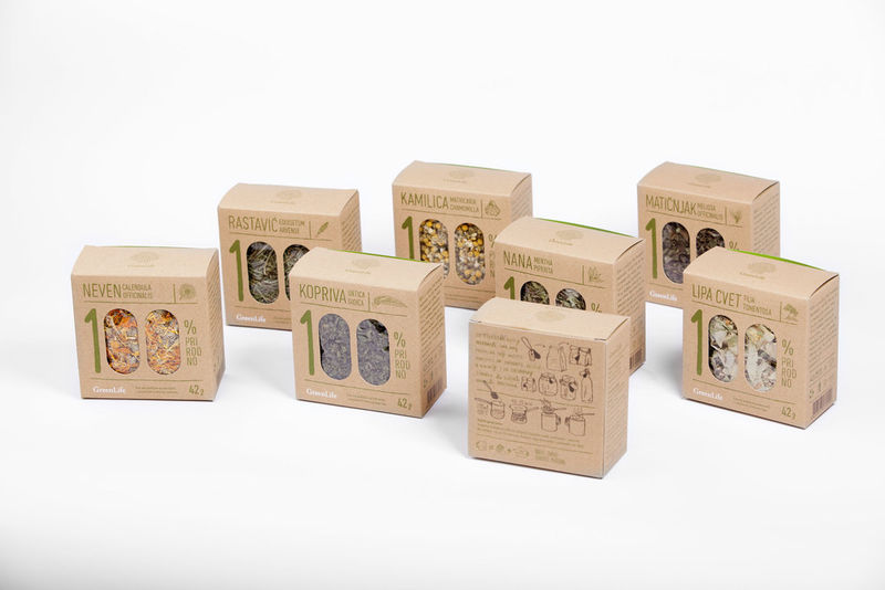 Earthy Product Packaging