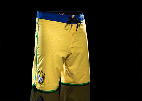 Soccer-Inspired Boardshorts - Hurley's World Cup Boardshorts Pay Tribute to World Cup Soccer Teams