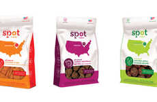 Geographic Treat Branding - Spot Farms Informative Branding Identity Will Keep Dog Owners Happy