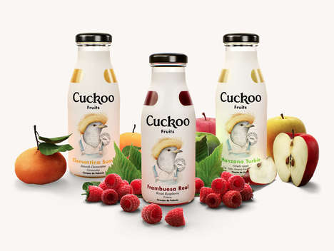 Cuckoo's Juice Branding Identity is Smart, Subtle and Sweet