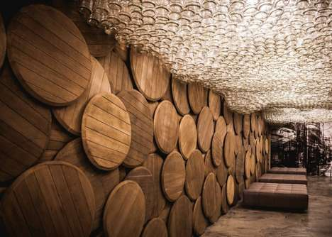 Barrel-Covered Bars