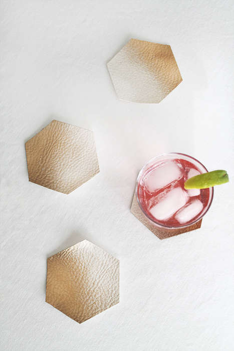 DIY Ombre Coasters