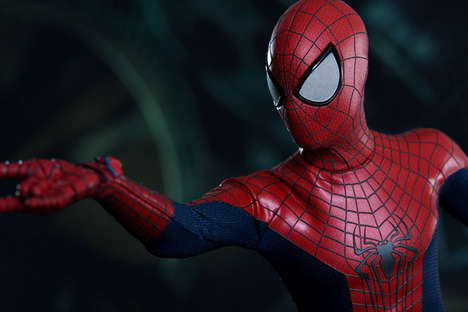 Hot Toys Created a Life-Size Spider-Man for the Amazing Spider-Man 2