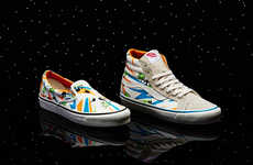 Galactic Film Sneakers