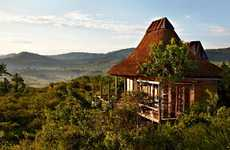Thatched African Hotels - The Kyambura Lodge by Regional Associates is a Modern Twist on Tradition