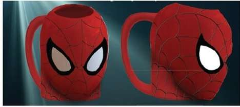 Superhero Molded Mugs