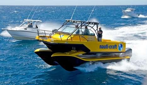 Wobble-Proof Catamarans