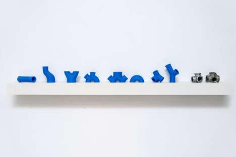 3D-Printed Pipe Fittings