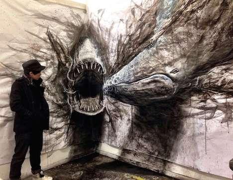 Illusionary Animal Art