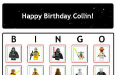 Intergalactic Party Games - The Star Wars Bingo Game is Great for Kid Parties