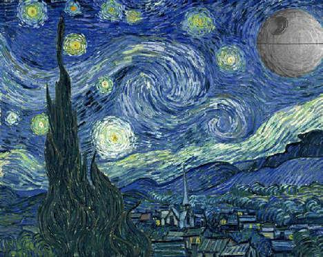 Galactic Impressionist Mash-Ups