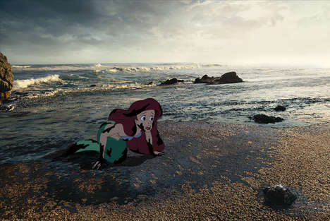 Alternate Cartoon Ending Spoofs - 'Unhappily Ever After' Disney Characters Get Awful Story Endings