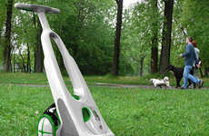 Pooper-Scooper Vacuums - The D-Partner Tidies Dog Droppings So That You Don't Have to Get Dirty