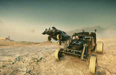 Destructive Dystopian Video Games - The Mad Max Video Game Centers on Vehicular Combat