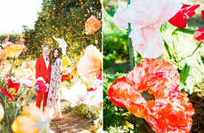 Bohemian Bridal Photography - This Backyard Wedding is Non-Traditional and Fashion Forward