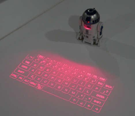 Droid Keyboard Projectors