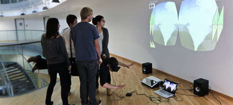 People-Powered Motion Simulator - This 3D Motion Simulator is Controlled by Human 'Actuators'