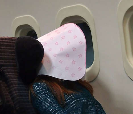 Pita-Like Sleeping Pouches - The Dome Sleeping Hood Completely Covers Your Head While You Sleep