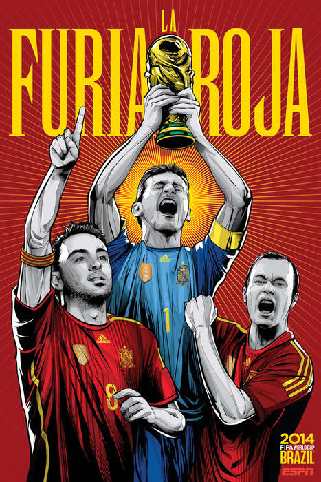 Vibrant Soccer Posters