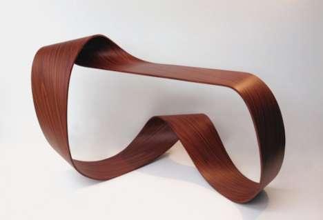 Twisting Wooden Furniture