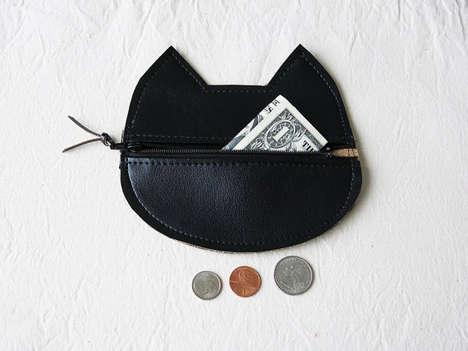 Feline Coin Clutches