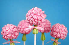 Mini Bouquet Cake Pops - Bakerella's Flower Cake Pops Are Perfect Mother's Day Treats