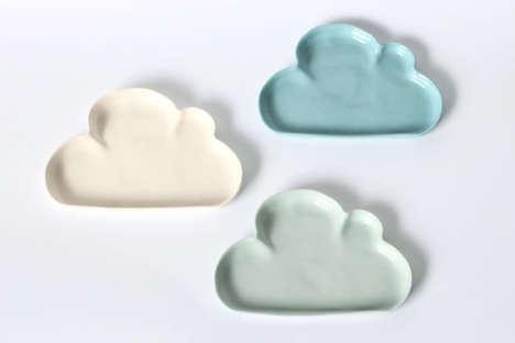 Celestial Cloud Plates