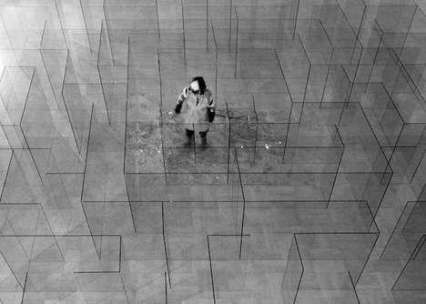 Glass Labyrinth Installations